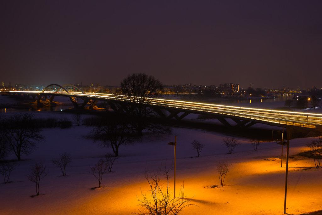 Elbschlösschen Brücke in Dresden