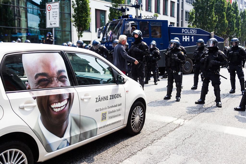 G20, shoing teeth
