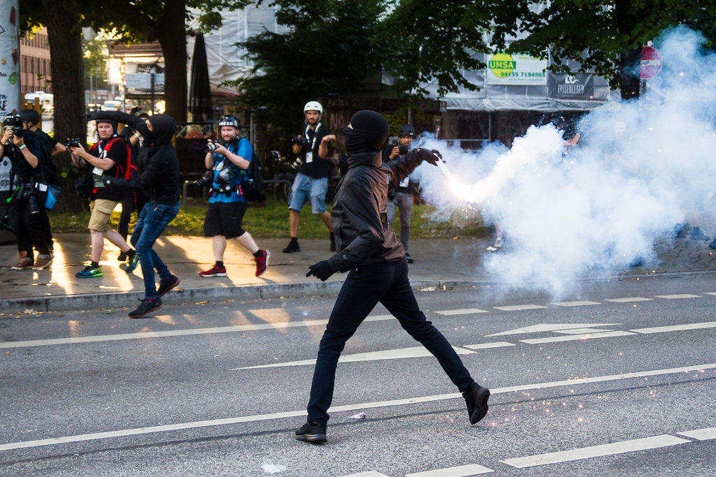 G20 Riots in Hamburg